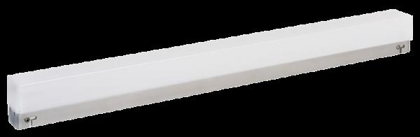 LED Unterbauleuchte, 15W, 1300lm, 76cm, neutralweiß, 2 Steckdosen, inkl. 5 Haken