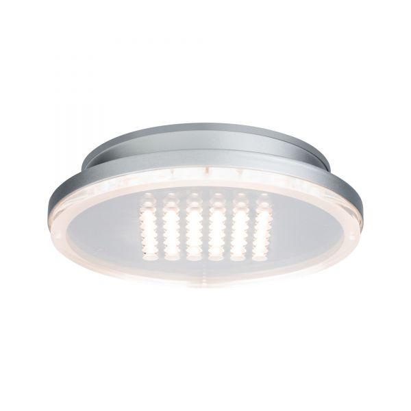 Paulmann Premium ABL Set Panel Shower rund LED 1x10W 2700K 230V 210mm Chrom matt/Alu
