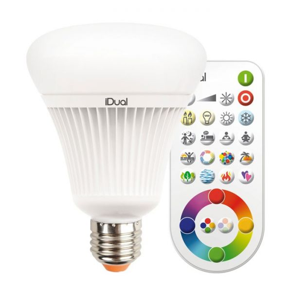 Müller-Licht LED Birne iDual 16W (75W) E27 RGB 140°   LED-Homeshop