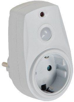 Zwischenstecker mit Dämmerungssensor 230V, mit Kindersicherung, max. 280W