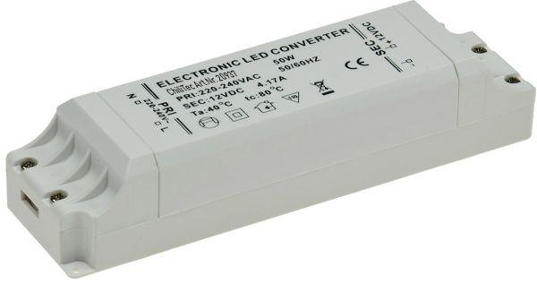 """LED-Trafo """"CT-50-V2"""", 1-50W 230V~ auf 12V="""
