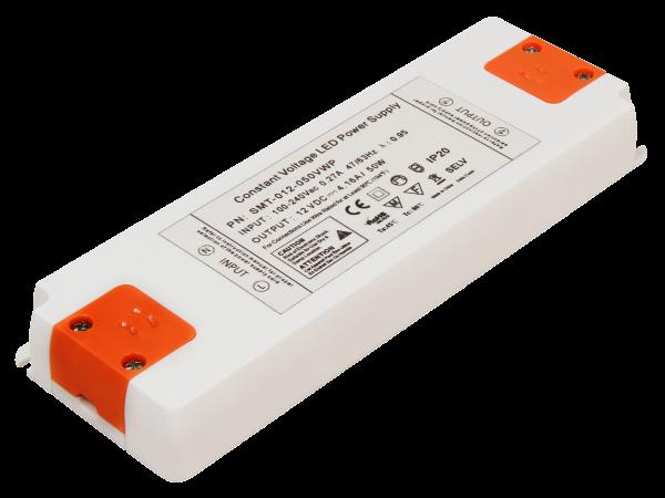 LED-Trafo McShine Slim elektronisch, 1-50W, 230V auf 12V, 185x64x23mm