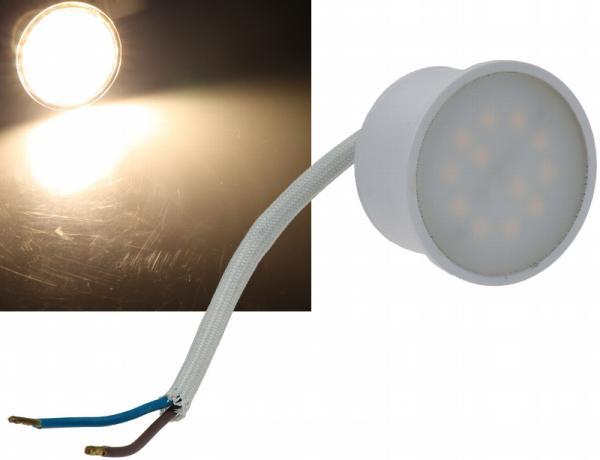 LED-Leuchte Piatto P3 3W 260 Lumen warmweiß