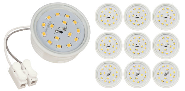 LED-Modul McShine, 5W, 400lm, 230V, 50x23mm, neutralweiß, 4000K, 10er-Pack
