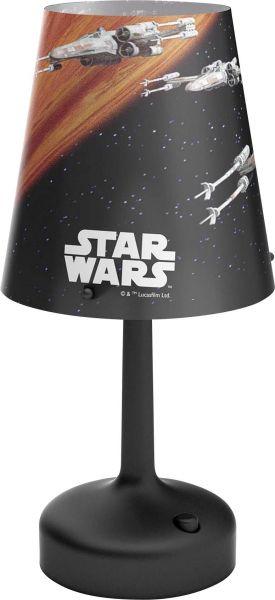 Philips Star Wars Spaceships LED Tischleuchte/Nachttischleuchte Plastik 0.6 W schwarz