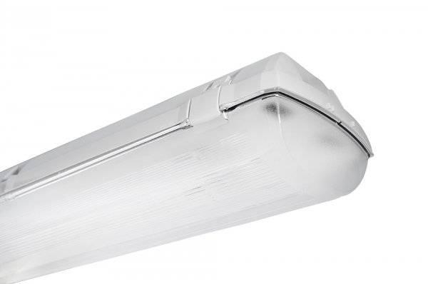 Bioledex 2-fach Feuchtraumleuchte für 2 LED Röhren DOLTA Länge wählbar