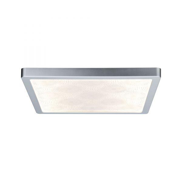 Paulmann WallCeiling Ivy LED-Panel IP44 380x380mm 20W 230V Chrom matt/Kunststoff