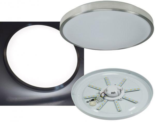 """LED Deckenleuchte """"Acronica 16n"""" Ø 33cm, 16W, 1020lm, 4500K, IP44"""