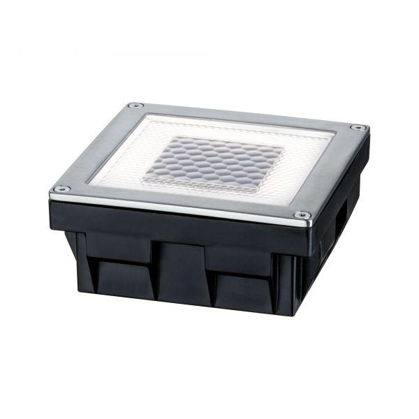Paulmann Bodeneinbauleuchten-Set Solar Cube IP67 LED