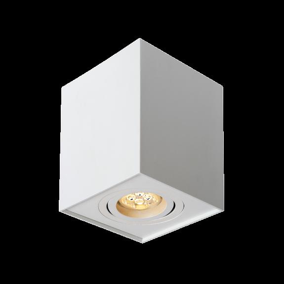 Designer Aufbaudownlight in Silber / Weiß / Schwarz GU10 Sockel verstellbar