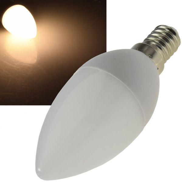 """LED Kerzenlampe E14 """"K70"""" warmweiß 3000k, 700lm, 230V/7W"""