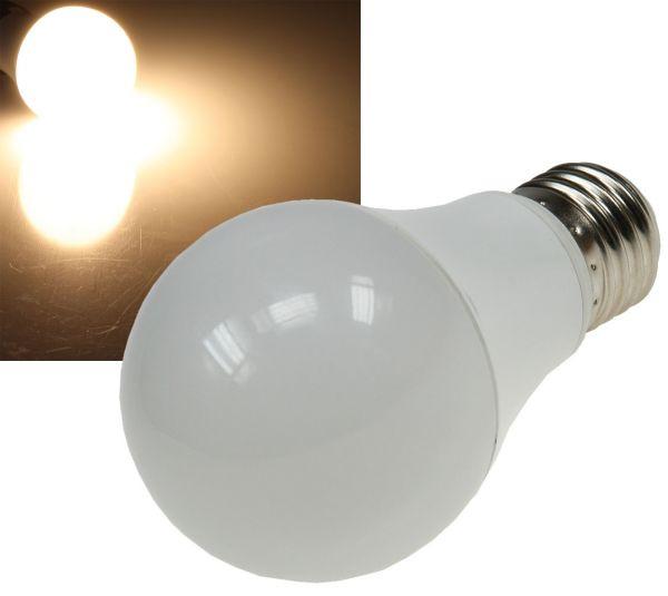 "LED Glühlampe E27 ""G70 AGL"" warmweiß 3000k, 800lm, 230V/10W, 270°"
