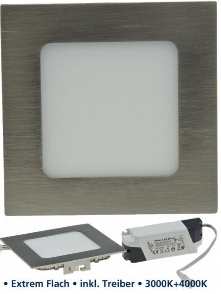 LED Panel CCT-012 12x12cm 600lm