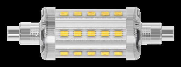 LED-Strahler, R7s, 5,5W, 550lm, 78mm, 360°, 2700K, warmweiß