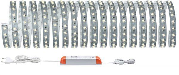 Paulmann Function MaxLED 500 Basisset 10m Warmweiß 70W 230/24V 80VA Silber