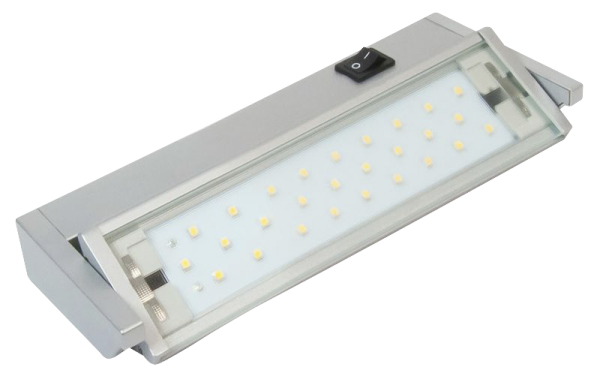 LED Unterbauleuchte, 5,5W, 400lm, 35cm, schwenkbar, An-/Ausschalter