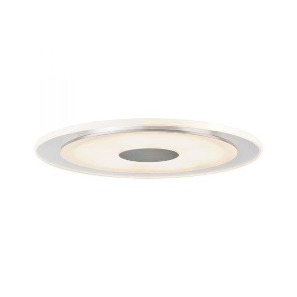 Paulmann Einbauleuchten 3er-Set Whirl rund LED 6W Alu/Satin