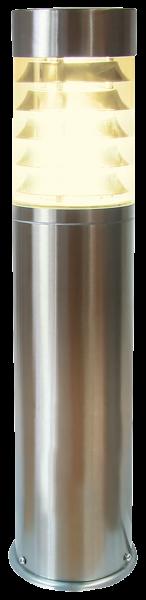 Außenleuchte, Ø100x450mm, Edelstahl, IP44