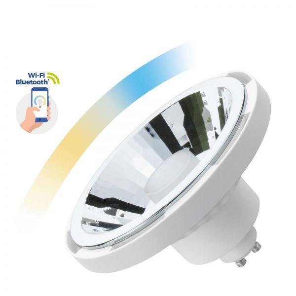 Spectrum SMART LED Lampe, AR111 10W GU10 Wi-Fi/Bluetooth CCT dimmbar