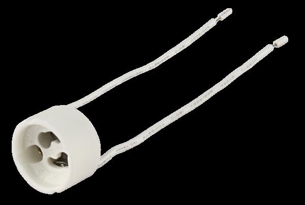 Lampenfassung McShine, GU10, 11cm Kabel, max. 250V / 100W