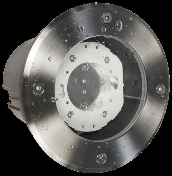 Bodenleuchte McShine BL-05R IP65, GX53 Fassung, Ø140x115mm, rund