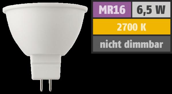 LED Strahler HD95 MR16, 6,5W, 380lm, 2700K, warmweiß, Ra>95