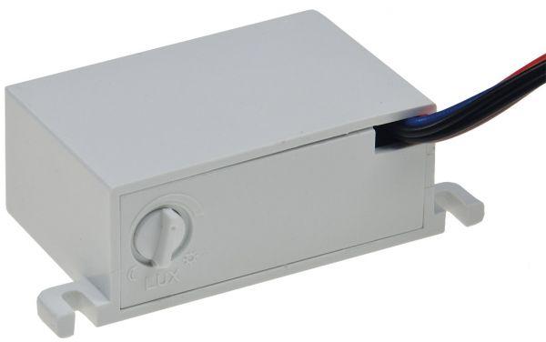 Dämmerungs-Schalter für Decken-Einbau 230V/50Hz, 10A, externer Sensor, IP44