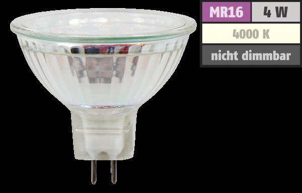 LED-Strahler McShine ET40, MR16, 4W, 320lm, neutralweiß