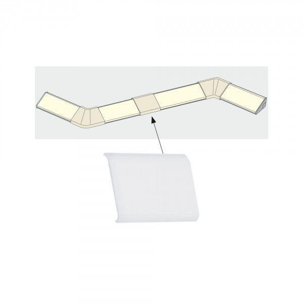 Paulmann Delta Profil Cover 4er Pack Satin Kunststoff