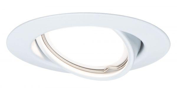 Paulmann TIP EBL Set rund schwb LED stufen-dim 3x4,8W 475lm 230V 51mm Weiß/Metall
