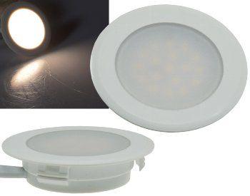 """LED-Einbauleuchte """"EBL-HV65w"""", weiß 2 Watt, 230V, 4200K, 170Lm, neutralweiß"""