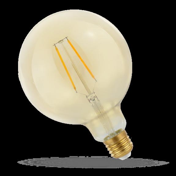 SpectrumLED Filament Retro Gold E27 Globe