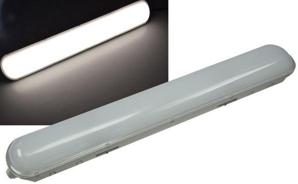 """Wand- & Deckenleuchte """"HP-25"""" IP65, 60cm 28W, 4000k, neutralweiß, 2500 Lumen"""