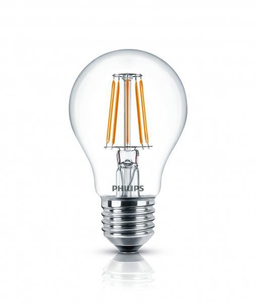 Philips LED Filament Classic Birne 4 Watt 470 Lumen warmweiß A++