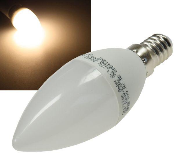 """LED Kerzenlampe E14 """"K50"""" warmweiß 3000k, 400lm, 230V/5W"""