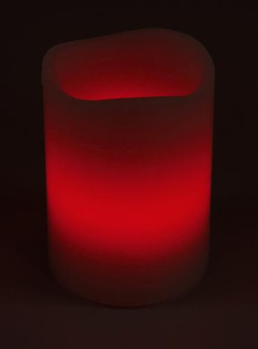 LED Echtwachskerze mit RGB Funktion und Funk Fernbedienung