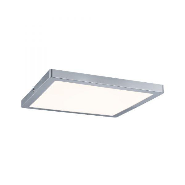 Paulmann Wand- und Deckenleuchte Atria LED-Panel 24W Chrom matt dimmbar