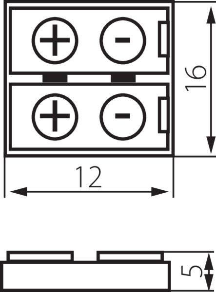KANLUX CONNECTOR 8 für einfarbige LED Stripes