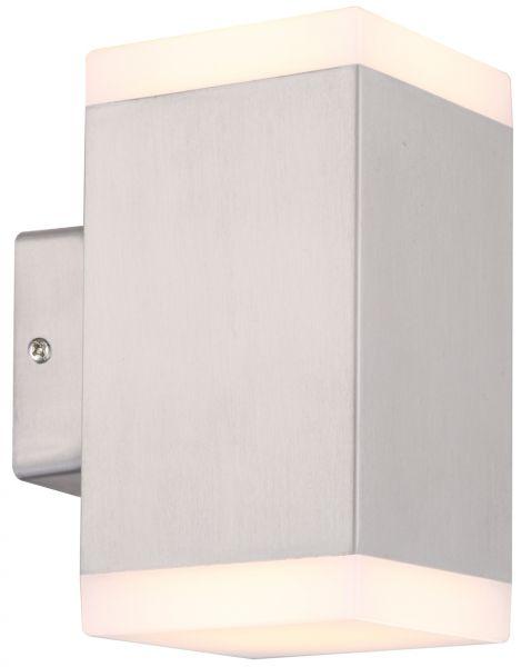 "LED Wandleuchte ""Cedros 7 Duo"" warmweiss 3000K, 60 LEDs, 2x 450lm, 230V/11 Watt"