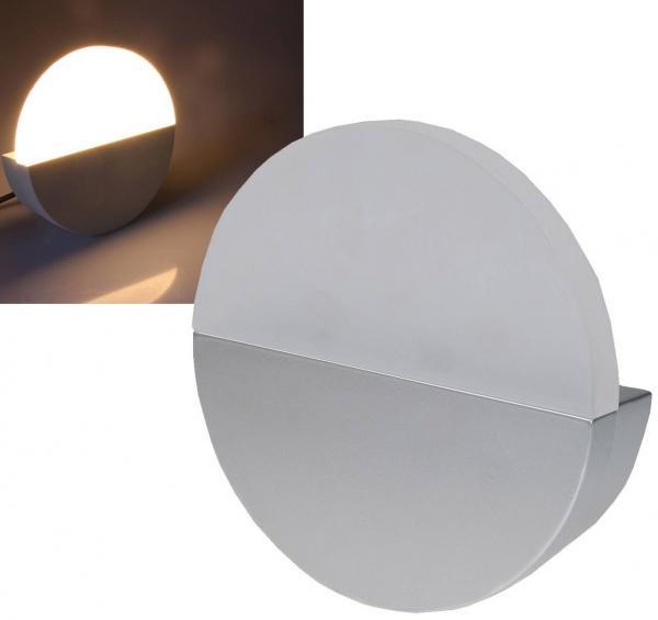 LED Wandleuchte WL 502G in grau mit 390lm und 6W