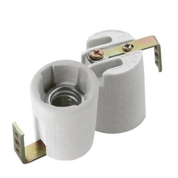 Keramik-Lampenfassung E14 Keramik