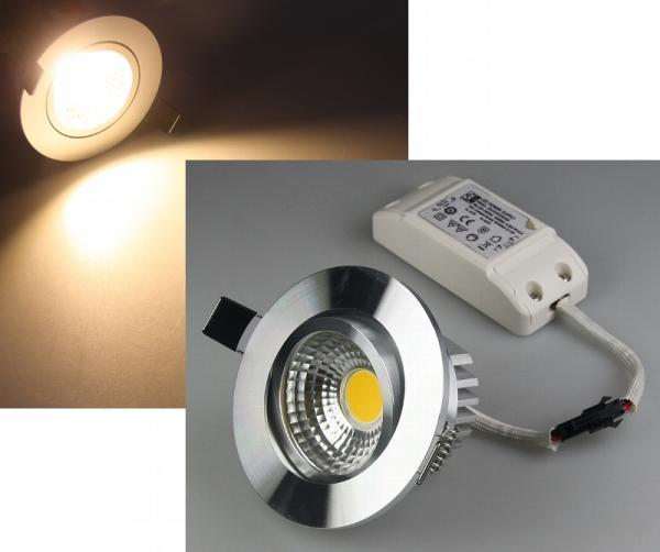 LED-Einbauleuchte COB-5 5W 350lm