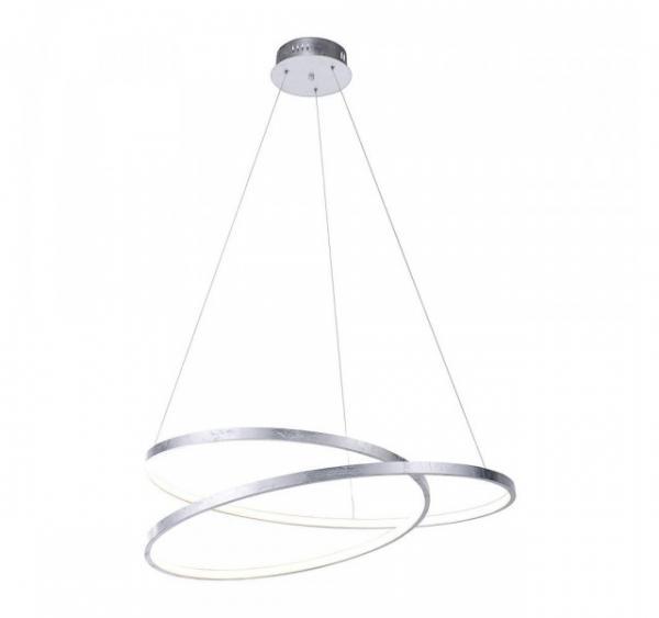 Paul Neuhaus LED- Pendelleuchte Geometrisch Silber