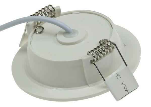 """LED Licht-Panel """"CP-90R"""", Ø 90mm, IP54 230V, 5W, 420 Lumen, 4200K / neutralweiß"""