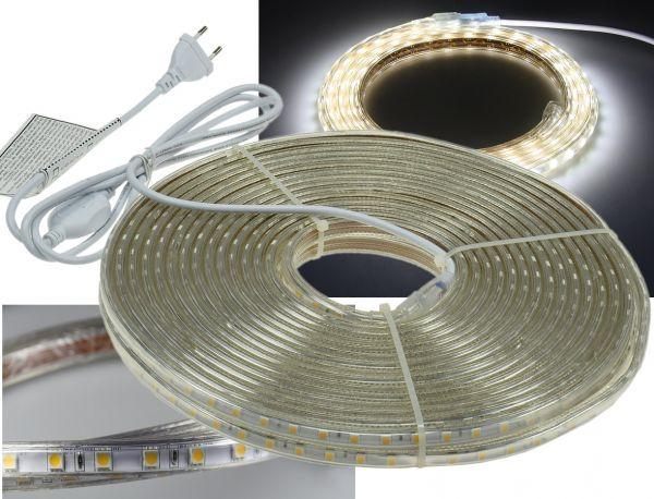"LED-Stripe ""Ultra-Bright"" 230V, 20m 630 Lumen/Meter, weiß"