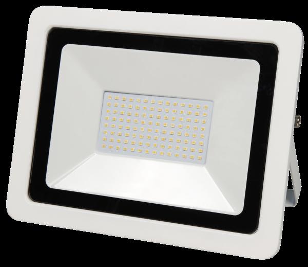 LED-Außenstrahler McShine SMD-Slim 100W, 6700Lumen, 3000K, warmweiß, IP44