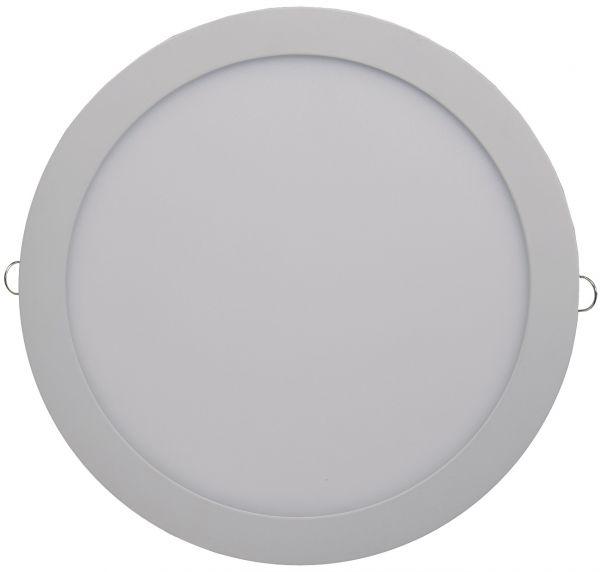 "LED Licht-Panel ""QCP-30R"", Ø 30cm 230V, 24W, 1720 Lumen,4200K /neutralweiß"
