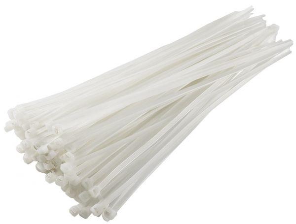 Kabelbinder 368mm x 4,8mm, transparent 100er Pack, hohe Zugkraft