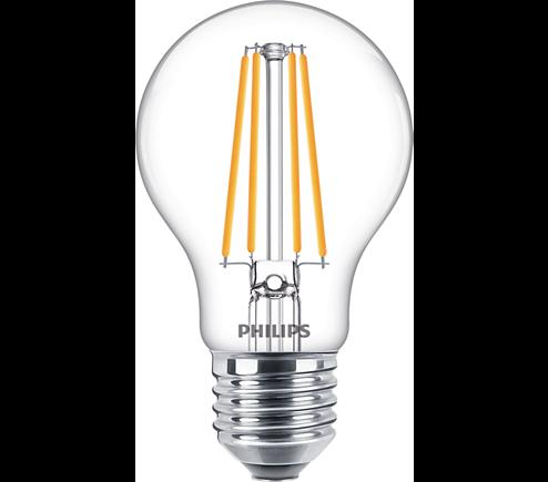 Philips Classic LED bulb Multipack 3er E27 7 Watt klar