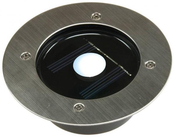 Solar LED Bodenstrahler CTB-R rund Schutzklasse IP44